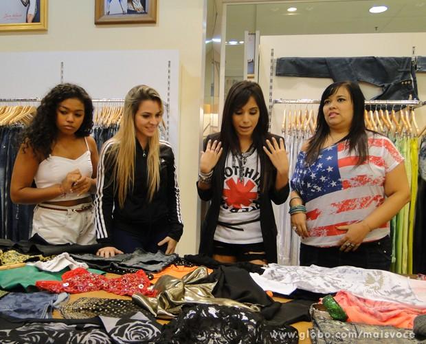 Anitta monta look 'poderoso' para suas fãs (Foto: Mais Você / TV Globo)
