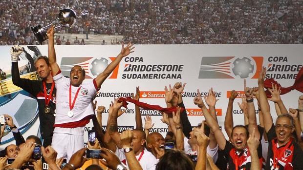 Lucas São Paulo x Tigre (Foto: Gustavo Tilio / Globoesporte.com)