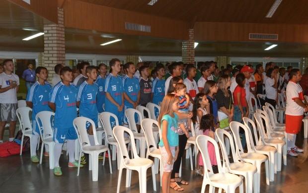 Quatro jogos iniciaram a Copa Rede Amazônica de Futsal (Foto: Bruna Cássia/Rede Amazônica)