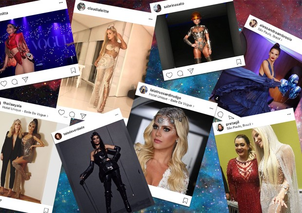 Baile da Vogue 2017: as fotos mais populares do Instagram (Foto: Reprodução/ Instagram)