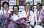 Sarah Menezes e Rafaela Silva levam bronze no Grand Slam de Paris (© IJF Media by G. Sabau)