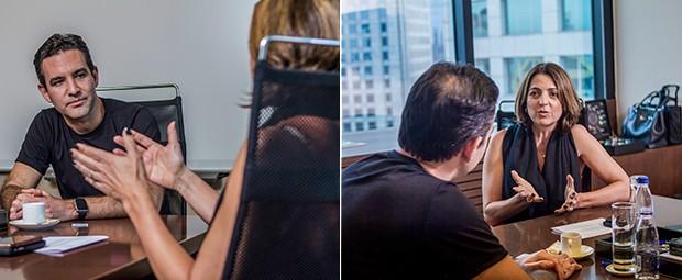 ABERTURA PLENA A presidente da Microsoft usa iPhone? Sim. E Android também. Paula diz que isso é símbolo da mudança na empresa (Foto: Rogério Albuquerque)