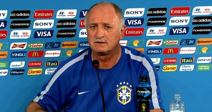 FRAME - Felipão Scolari Brasil coletiva (Foto: Globoesporte.com)