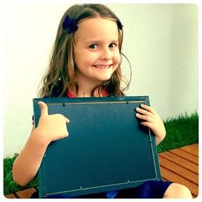 Luisa, filha de Fernanda Rodrigues e Raoni Carneiro (Foto: Reprodução/Instagram)