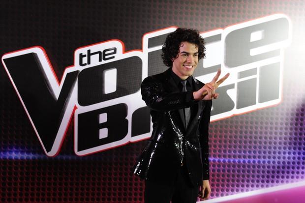 Sam Alves venceu a segunda edição do The Voice Brasil (Foto: Globo/Estevam Avellar)