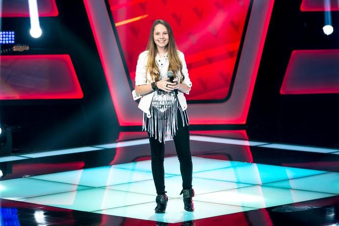 Carol Passos The Voice Kids (Foto: Isabella Pinheiro/ Gshow)