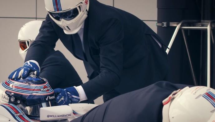 Williams pitstop estiloso (Foto: Reprodução/ Youtube)