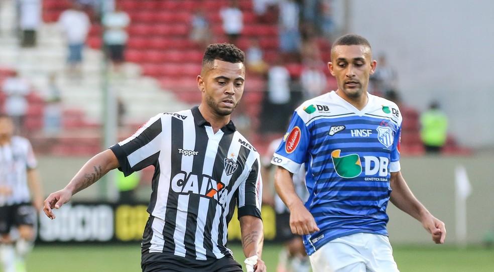 Rafael Carioca foi uma boa figura do Atlético-MG na vitória por 3 a 0 sobre a URT (Foto: Bruno Cantini/Atlético-MG)