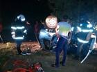 Homem capota carro e fica ferido em Montes Claros, no Norte de Minas
