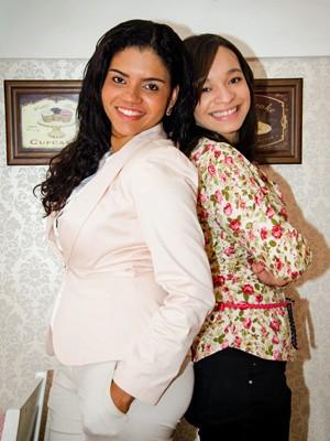 Juliana e Larissa trocaram a área de turismo pelos casamentos (Foto: Arquivo pessoal)