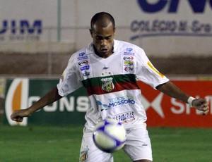 Carlinhos, atacante do Baraúnas (Foto: Cézar Alves/Cedida)