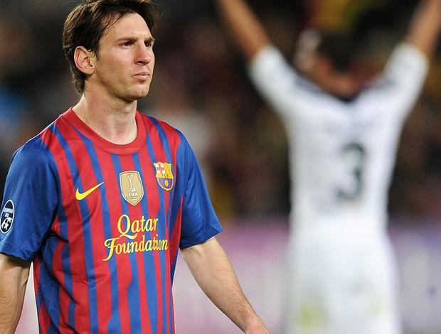 Messi - Chelsea X Barcelona (Foto: Ag. AFP)