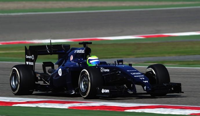 Felipe Massa fez o melhor tempo da manhã deste sábado no Bahrein (Foto: Getty Images)