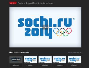 Transmissão do SporTV na web das Olimpíadas de Sochi (Foto: Divulgação)