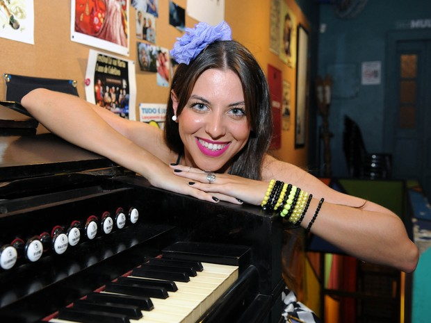 Gabriela Pasche, Musa do Bloco Pra Iaiá (Foto: Alexandre Durão/G1)