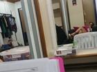 Viviane Araújo exibe as pernas em selfie nos bastidores de 'Império'