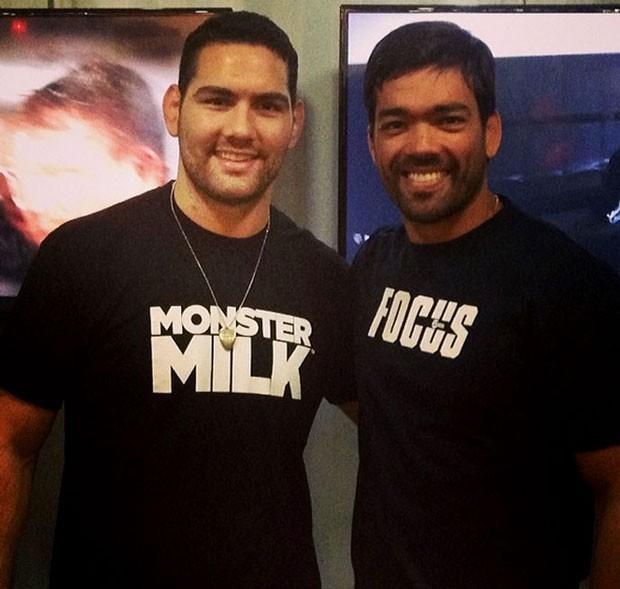 MMA Chris Weidman e Lyoto Machida (Foto: Reprodução/Instagram)