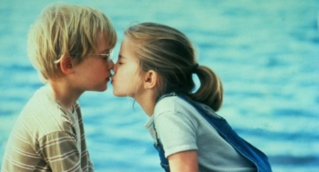 Anna Chlumsky e Macaulay Culkin em 'Meu Primeiro Amor' (1991) (Foto: Reprodução)
