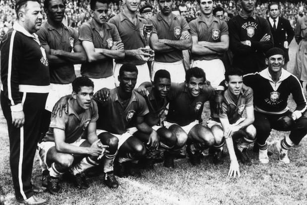 Seleção brasileira 1958 (Foto: Getty Images)