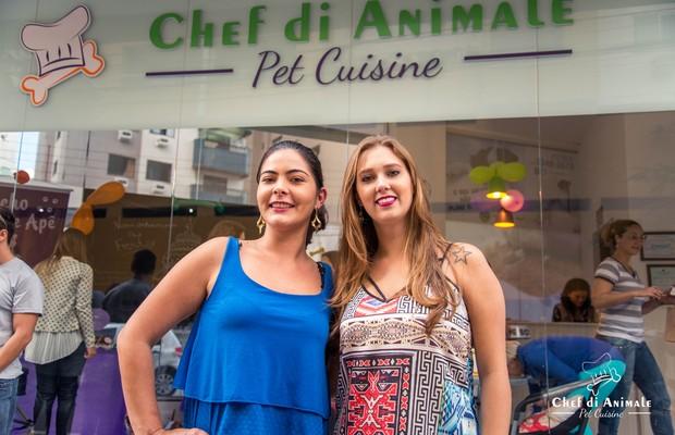Caroline Sprot e Bettina Michalak, da Chef di Animale (Foto: Divulgação)