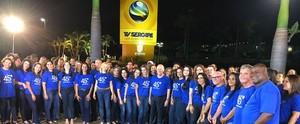 Colaboradores e diretoria da TV Sergipe estrelam campanha de fim de ano; assista (Divulgação / TV Sergipe)