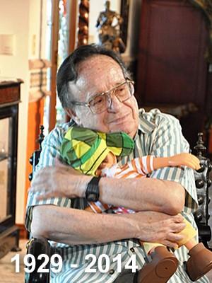 Morre aos 85 anos o ator mexicano Roberto Bolaños, o Chaves (Danilo Mejias/SBT)