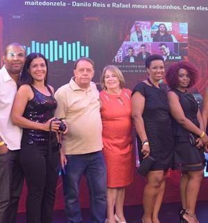 Vencedores da promoção Pepsi na final  (Divulgação/GShow/TV Globo)