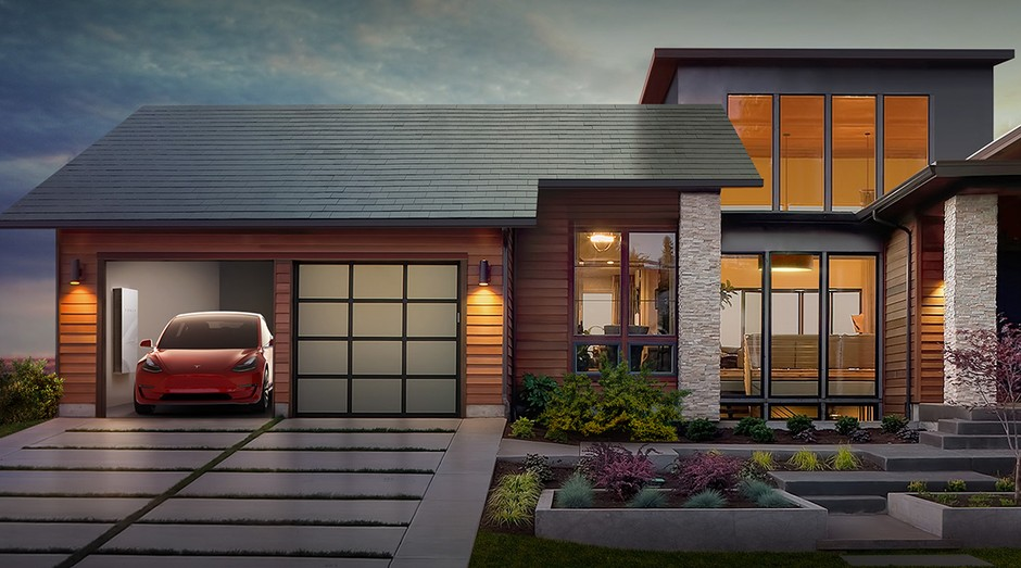 Painéis de captação de energia solar da Tesla começarão a ser vendidos ainda neste ano (Foto: Divulgação)