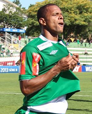 Bruno Rangel Chapecoense no acesso (Foto: Aguante Comunicação/Chapecoense)