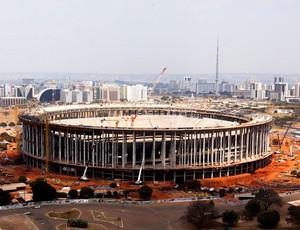 obras estádio Nacional de Brasília mané garrinha (Foto: Divulgação)