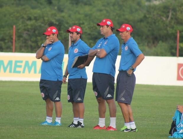 Leandro Sena, Roberto Fernandes, Barata e Luizinho Lopes - América-RN