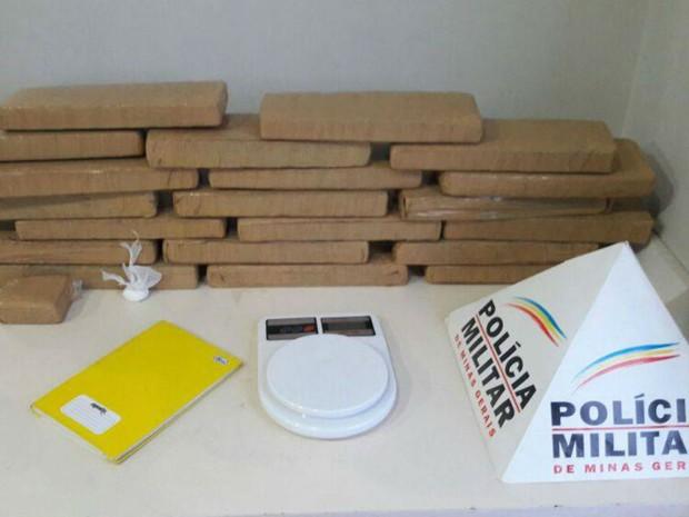 tráfico de drogas Uberlândia (Foto: PM/Divulgação)