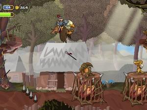 'Gryphon Knight' é game feito no Brasil por estúdio de Florianópolis (Foto: Divulgação/Cyber Rhino)