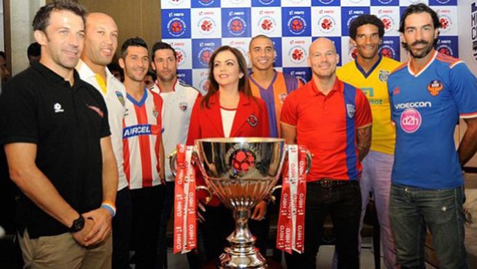 Trofeu Super Liga da India (Foto: Divulgação)