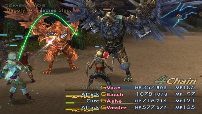 Final Fantasy 12 e o sistema de Gambits (Foto: Divulgação/Square Enix)