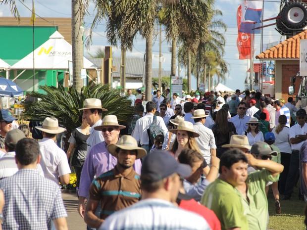 Tecnoshow 2017 espera receber cerca de 100 mil visitantes em Rio Verde Goiás (Foto: Divulgação/Comigo)