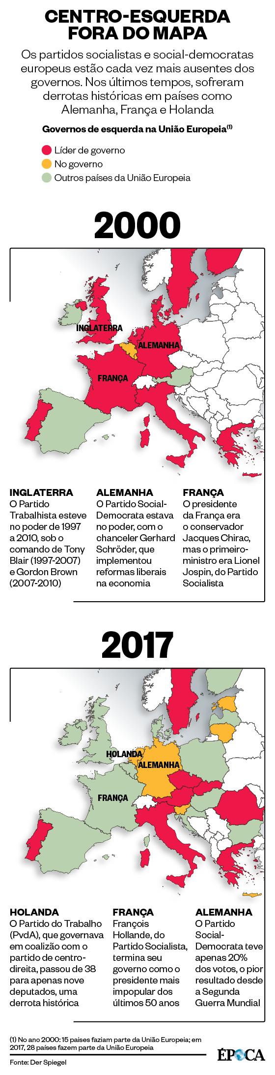 Centro-esquerda fora do mapa (Foto: Época)