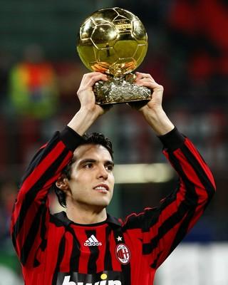 e9bd7debe1 Kaka Bola de Ouro 2007 (Foto  AFp)