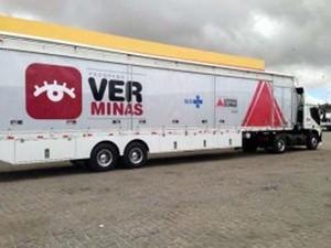 Programa Ver Minas oferece exames gratuitos em Pompéu (Foto: Secretaria de Saúde/ Divulgação)