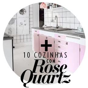 Cozinhas com Rose Quartz (Foto: Casa Vogue)