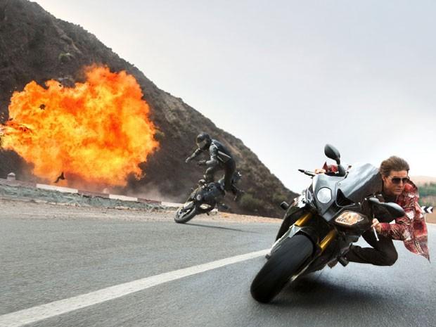 Tom Cruise em cena de 'Missão: Impossível – Nação secreta' (Foto: Divulgação)