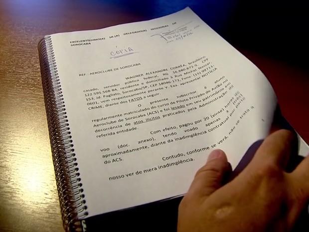 Inquérito da Polícia Civil tem mais de 200 páginas (Foto: Reprodução/TV TEM)