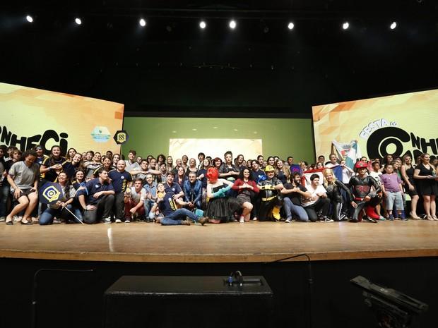 Cerimônia de premiação dos vencedores do Prêmio RBS de Educação (Foto: Mateus Bruxel)