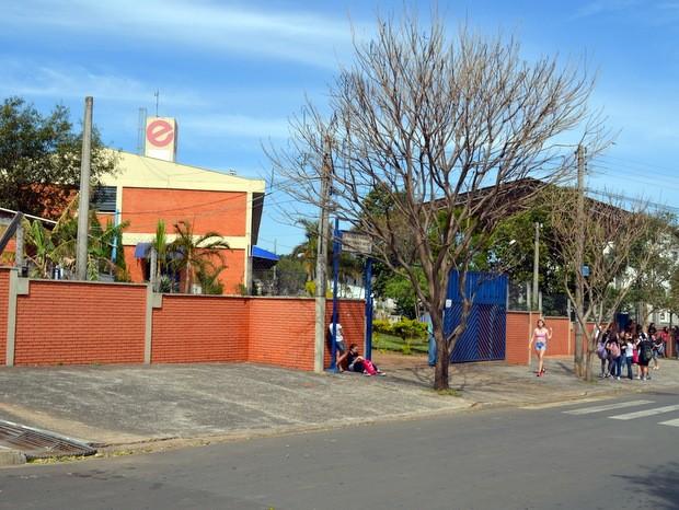 Escola Estadual Professora Juracy Neves de Mello Ferracciú, em Piracicaba (Foto: Leon Botão/G1)