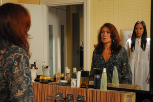 Marta (Lília Cabral) e Nanda (Fernanda Vasconcellos) em Páginas da Vida