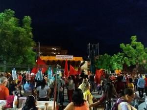 Cerca de 300 pessoas, segundo os organizadores, estão reunidos em Sobral (Foto: Divulgação)