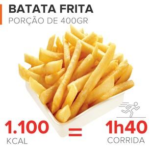 EuAtleta Caloria x Queima_Batata-Frita (Foto: Eu Atleta | Arte Info)