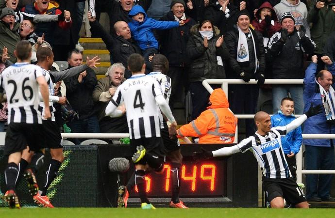 Gouffran newcastle gol chelsea (Foto: Agência Reuters)