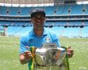 """Das críticas à taça, Maicon desfruta de fim de jejum do Grêmio: """"Tudo azul"""""""