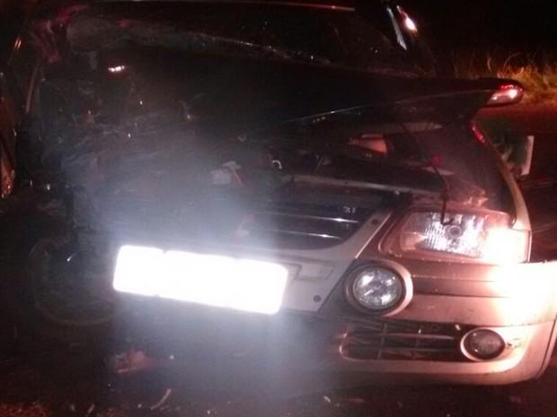 Acidente em rodovia de Birigui. Rio Preto (Foto: Divulgação/ Polícia Rodoviária)